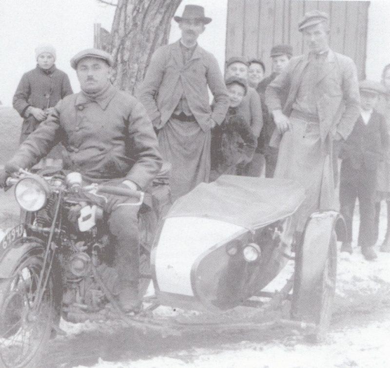 erstes Motorrad 1924