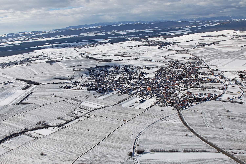 Horitschon im Winter