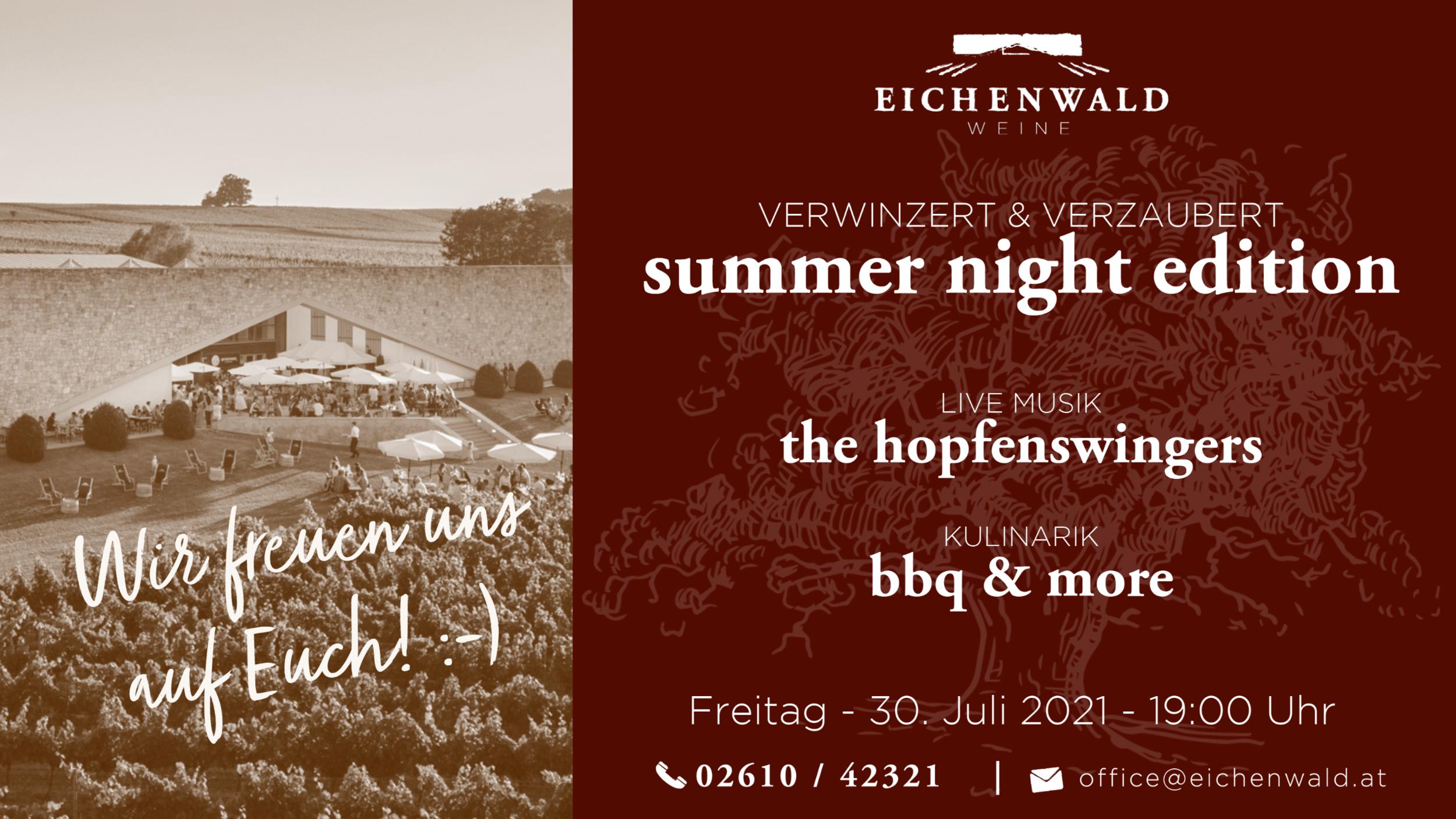 Eichenwald Weine Summer Edition 2021
