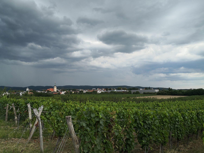 Gewitter in Horitschon © Anna Schumann